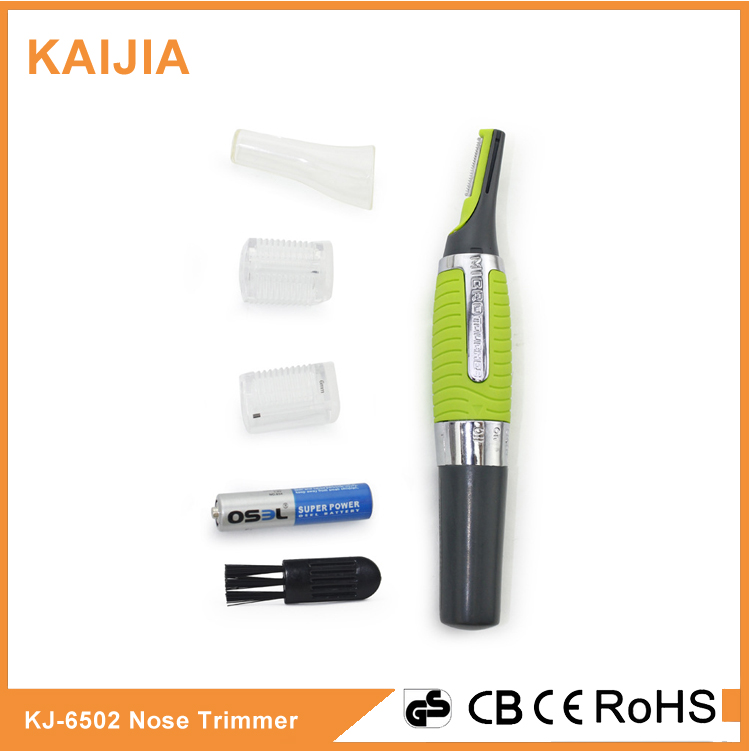 Electric nose trimmer battery hair remover trimmer for eyebrow