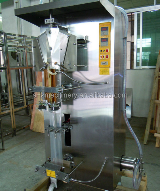 Electric Driven Type and Filling Machine Type liquid pouch form fill seal machine