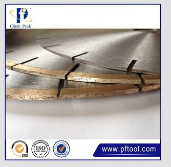 350mm Hot Pressed Segment Silent Marble Blade