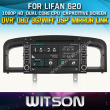 AUTO RADIO DVD For LIFAN 620 SOLANO STEERING WHEEL CONTROL FRONT DVR CAPACTIVE SCREEN