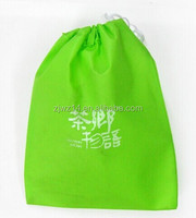 2015 cheap fashion custom reusable polyester foldable bag with snap closure