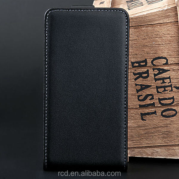 New Arrival Flip Cover Genuine Leather Case For Samsung Galaxy S 2 II i9100 Open Up And Down RCD03007