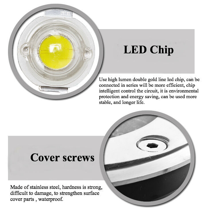 3w led underground mining light
