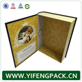 Yifeng Manufacturer wholesale cardboard book shaped gift box