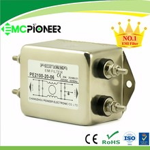 20A AC filter 120V/250VAC high performance single phase noise power filter