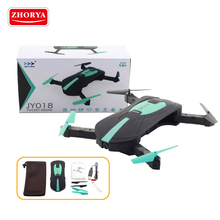 Zhorya 2017 JY018 wifi rc toy professional foldable camera mini pocket drone
