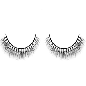 Wholesale handmade beauty supply natural looking soft bottom lashes manufacturer