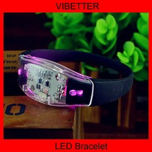 2016 novelty wedding favors gifts led flashing bracelet