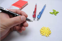 Eco Friendly Erasable Ball Point Pen with EN71 and ASTM