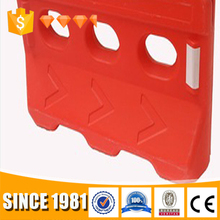 Go Kart Crowd Control Barrier / Plastic Traffic Barrier / Plastic Safety water filled barrier