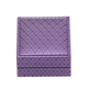 Latest Fashion Pu Leather Earrings Jewelry Necklace Packaging Box