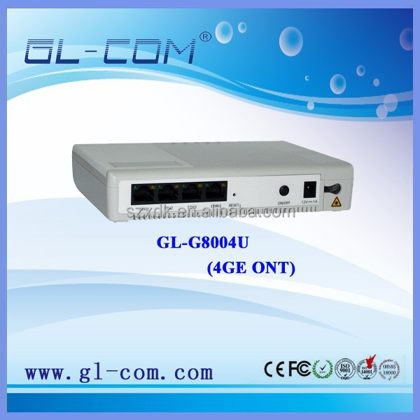 4GE Ethernet Wireless GPON ONT Access Point Internet Data IPTV Equipment GPON Device