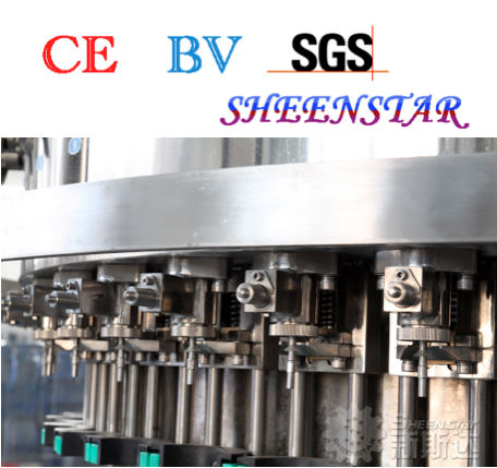 Aerated drinking water filling machine