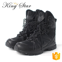 Custom Made Cheap Swat Combat Army Black Men Military Boots