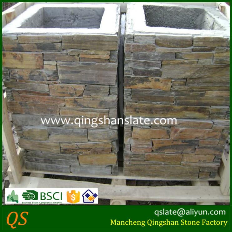 Pillar Concrete Buildings : Slate stone building design concrete pillar buy