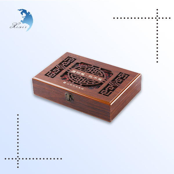 China supplier high end antique engravable wooden jewellery box