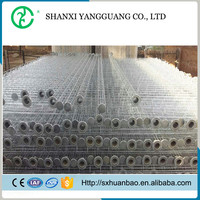 Organic silicon processing steel bag filter / filter bag cage