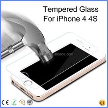 trending hot products 9H 0.33MM 2.5D Ultra Protective Premium Tempered Glass Screen Protector For IPhone 4 4s mobile accessory