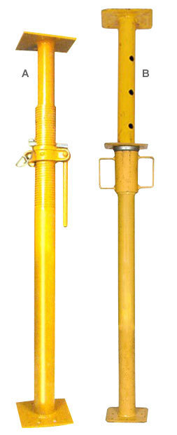 Frame Vs Shoring Prop : Adjustable support post pipe stand shoring prop
