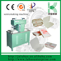 heat sealing paper rice chicken Box making machine with foot touch