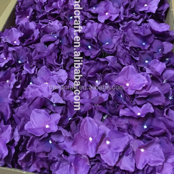 purple hydrangea silk flower artificial flower hydrangea silk flowers for wedding decoration