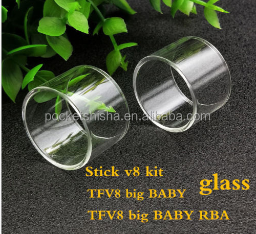 Smoke Tfv8 Big Baby Beast Stick V8 Kit Replacement Pyrex Glass Tank