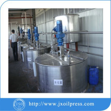 Crude oil refining machine for edible oil process