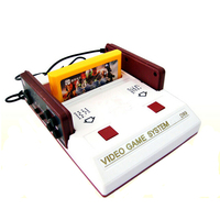 Nostalgic video games console TV game player FC Family computer