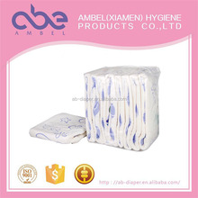 Disposable adult diaper printed colored breathable comfortable adult diaper for adult