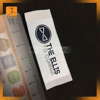 peel and stick label for clothing