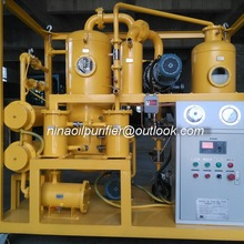 Double stage transformer oil moisture reduction system,used oil filtration unit