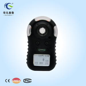 Battery operated portable CH4 methane gas leak detector analyzer