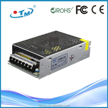 60W 100W 120W 150W 200W 24v 12v power supply with CE FCC constant voltage led driver