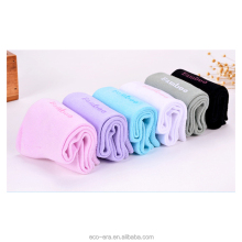 New Products On China Market 100% Bamboo Woman Socks Solid Color