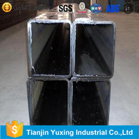 alibaba supplier aluminum square hollow tube from shipping company in tianjin port