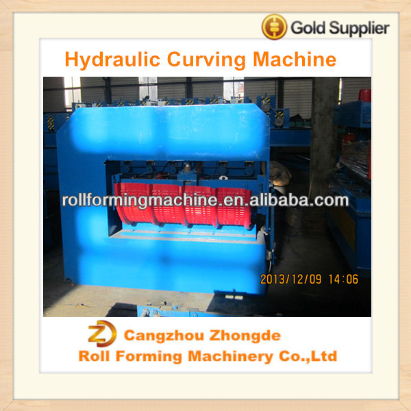 Horizontal Type Hydraulic Curving Arch forming Machine
