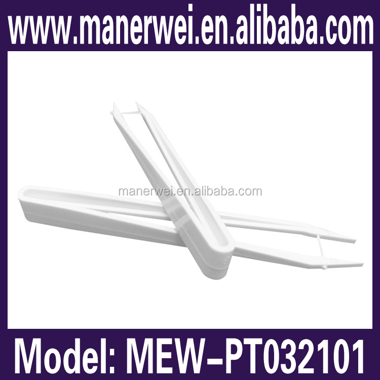 2015 good quality bottom price factory supplier cleanroom esd plstic tweezers