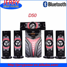 2016 New model speaker active subwoofer 5.1 Bluetooth speakers with support usb sd card/ fm