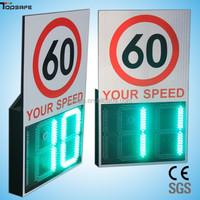 Solar High-brightness Radar speed sign used in high way