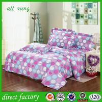 wholesale plain blue100% cotton bed sheet with low price