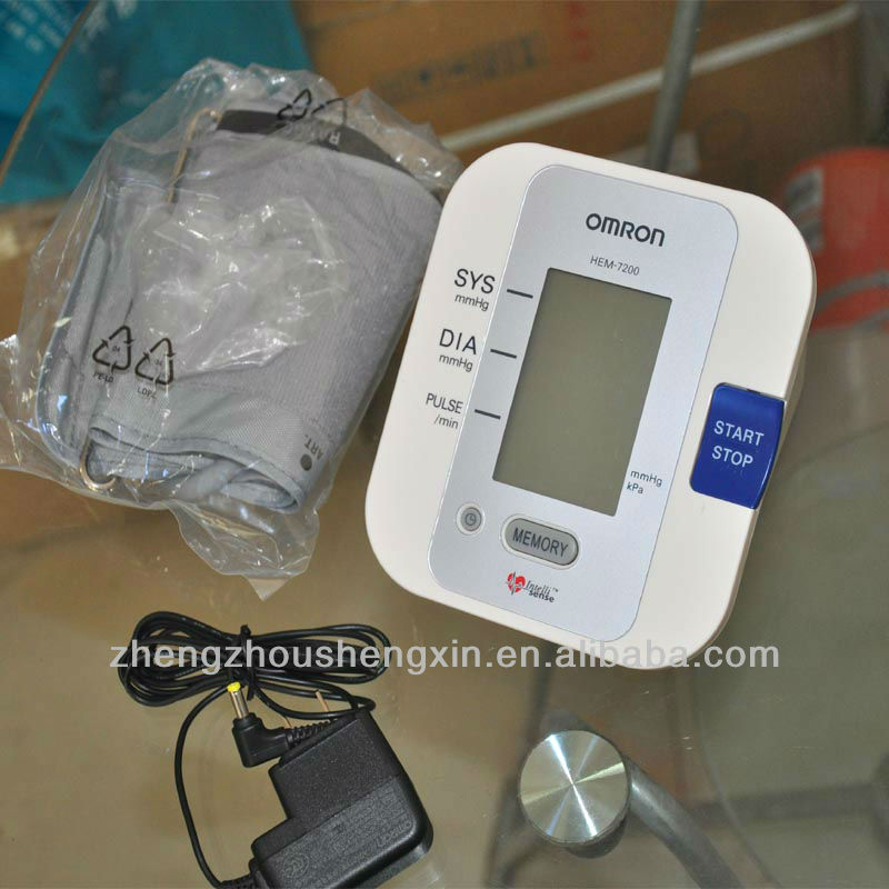 Omron Blood Pressure monitor HEM-7200 BP monitor with CE ,FDA