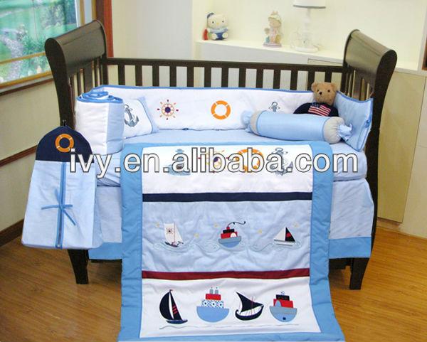 tela de algodn barco patrn camas cuna para nio buy product on alibabacom