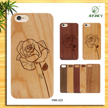 Beautiful engrave wood bamboo case for bamboo iphone 6 case oem your logo