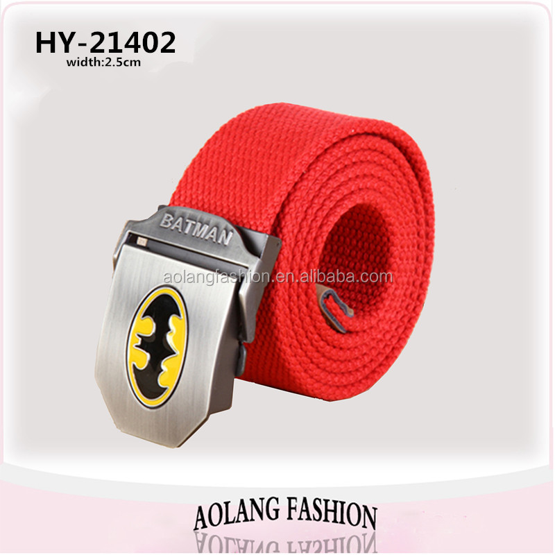 Wholesale Belt Woven Canvas Webbing Belt