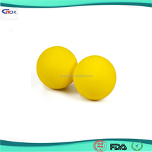 Hot selling soft peanut yoga silicone rubber massage ball