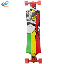 cutomized Color Canadian maple bamboo Material SKATE BOARD LONGBOARDS