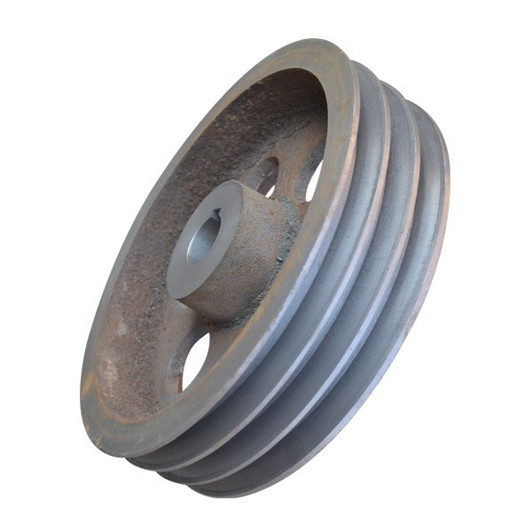 Steel Pulley Wheel Casting,carbon steel casted V type pulley wheel