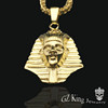 hip hop jewelry 18k Gold plated egyptian pharaoh pendant necklaces fashion jewelry wholesale