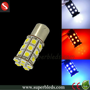 1156 ba15s socket smd 5050 27leds white