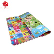 Custom 180*200*1cm size soft and waterproof baby playmate with EPE material